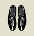 bowling shoes vector image