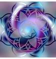 Mandala symbol vector image