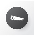 saw icon symbol premium quality isolated handsaw vector image