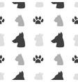 pet food seamless pattern vector image