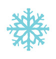 christmas snow icon vector image
