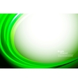 Bright green background vector image vector image