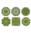 Celtic floral and animal ornaments vector image