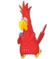Funny Parrot Prey vector image