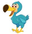 cute dodo bird cartoon posing vector image