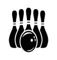 bowling stroj1 vector image