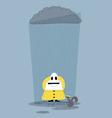 Happy in the Rain vector image