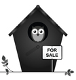 Birdhouse for sale vector image vector image