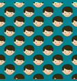 boy face portrait fun happy young expression cute vector image