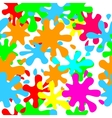 seamless pattern of blots and splashes vector image vector image