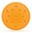 biscuit 01 vector image vector image