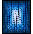 abstract blue decorative background vector image vector image