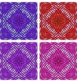 Colorful mosaic set vector image vector image