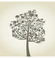 Tree food vector image
