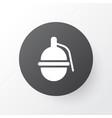 grenade icon symbol premium quality isolated vector image
