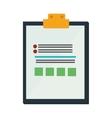 clipboard check list icon design vector image
