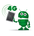 4g android vector image