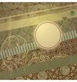 spring retro scrapbook design vector image vector image