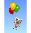 Flying sheep vector image vector image