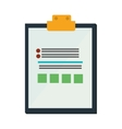 clipboard check list icon design vector image