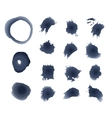 Ink Blots Isolated vector image
