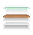 shelves 04 vector image