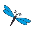 dragonfly insect nature vector image