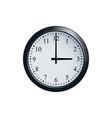 wall clock set at 3 o clock vector image vector image