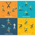 Disabled Sports Set vector image