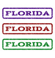 Florida watermark stamp vector image