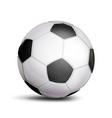 football ball sport game symbol realistic vector image