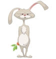 cartoon character rabbit vector image