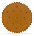 biscuit 02 vector image vector image