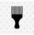 hairdressing shop icon design vector image