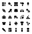 Clothes Icons 8 vector image