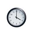 wall clock set at 4 o clock vector image vector image
