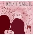 romantic nostalgia vector image