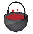 Magic kettle vector image