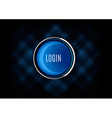 Login Button vector image
