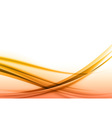 abstract orange back vector image vector image