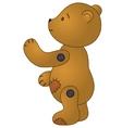 sad teddy bear vector image