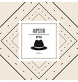 hat icon Hipster style design graphic vector image