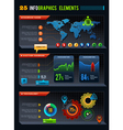 25 Infographics design elements vector image vector image