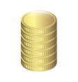 coins design vector image
