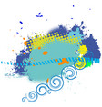 abstract background with space for a text vector image vector image