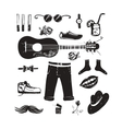 Hipster Clothing and Accessories Collection vector image vector image