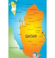 Qatar country vector image