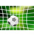 goal net vector image vector image