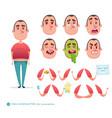 boy emoji face icons and symbols vector image