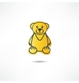 Upset bear vector image vector image